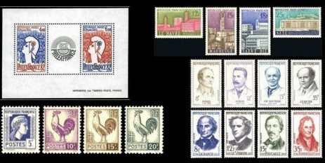 timbres de collection